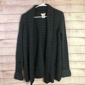 Matty M Open Front Cardigan Sweater SzSmall